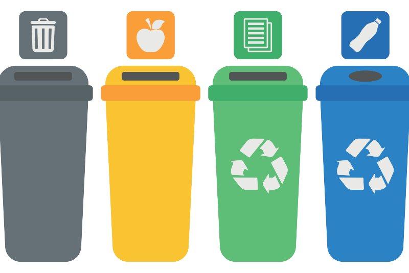 Contenedores de reciclaje: ¿cómo se deben usar?